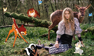 Stella Mccartney chose  Bambi
