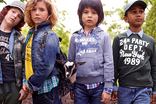 Children's Spring-Summer 2011 Collection of Benetton
