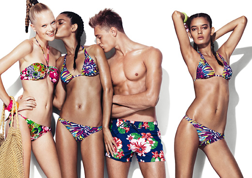 Spring-summer 2011 beachwear of Benetton