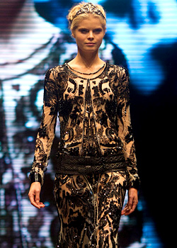 Roberto Cavalli showed Spring 2012 collection at Tel Aviv Fashion Week
