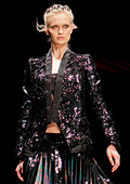 Roberto Cavalli showed Spring 2012 collection at <br />Tel Aviv Fashion Week