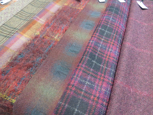 Fabric trends from the British Mills for Autumn