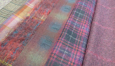 Fabric trends from the British Mills for Autumn - Winter 2015/2016