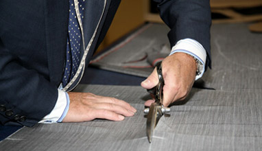 Crombie's Made-to-Measure Men's suits