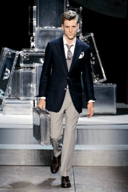 Dunhill New Aluminum Luggage Collection