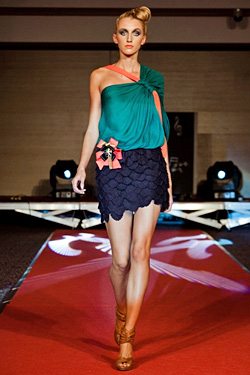 Europe Future Fashion 2011 presented designers from Croatia and other world  fashion brands