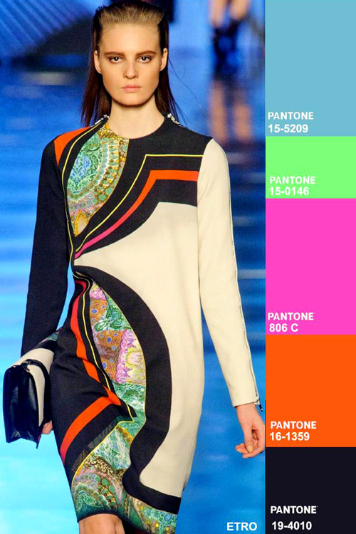 Colors fashion trend forecast: Fall-Winter 2014/2015 key color combos
