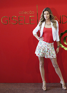 Gisele Bundchen became the new face of Givenchy