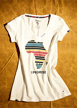 Tommy Hilfiger Presents His Millenium Promise Collection 2012