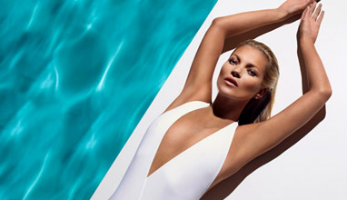 Kate Moss is the new face and body of the brand St.Tropez