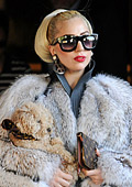 Lady Gaga defends her decision to wear fur clothes