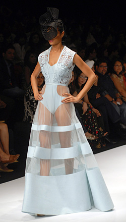 Retro fashion from Lakme Fashion Week 2012