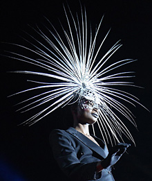 Exclusive Costumes and Novel Designs at Vienna Life Ball 2012
