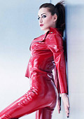 Crazy for latex clothing by MADRUBB
