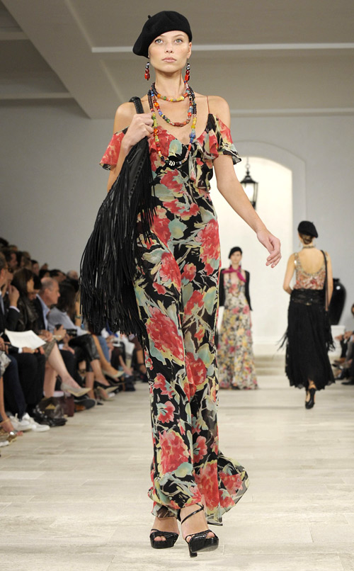 Mercedes-Benz Fashion Week New York Spring 2013: Ralph-Lauren Collection