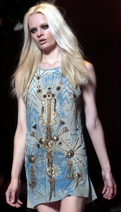 Kara: Versace Spring/Summer Collection 2012