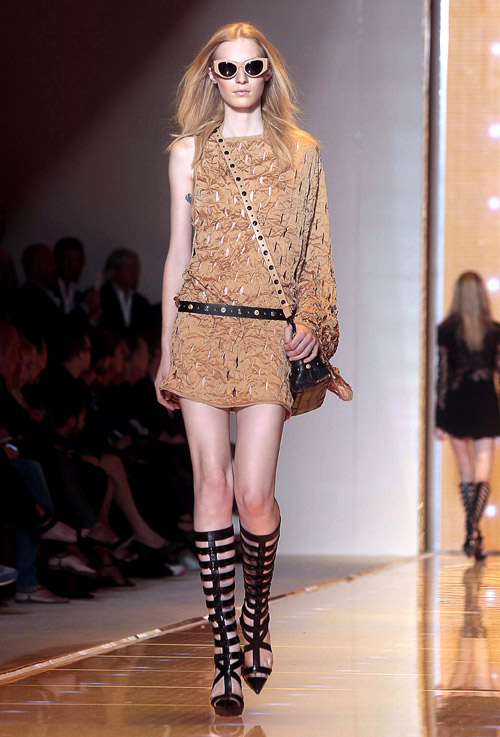 Versace Spring-Summer 2013 collection at Milan Fashion Week