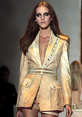 Versace Spring-Summer 2013 collection at Milan Fashion Week: Original, attractive, feminine and sexy