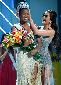 Miss Universe 2011 is Miss Angola Leila Lopes