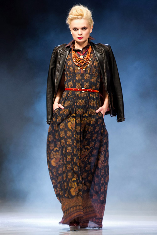 Fashion Philosophy Fashion Week Poland - Roksolana Bogutska's Fall-Winter 2013/2014 collection