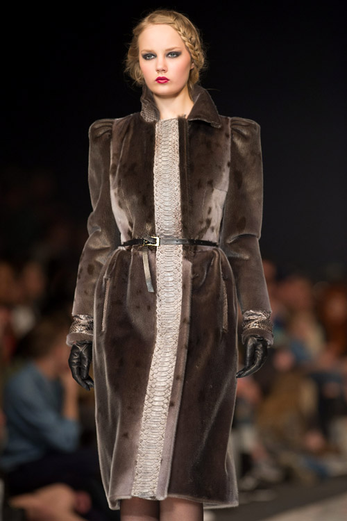 Fashion Philosophy Fashion Week Poland - Roksolana Bogutska's Fall-Winter 2013/2014 collection