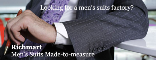 Made-to-measure suits factory