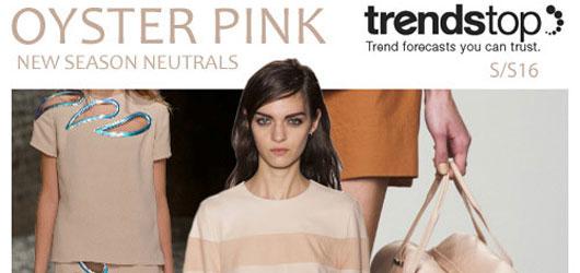 Spring-Summer 2016 Fashion trends: Neutrals
