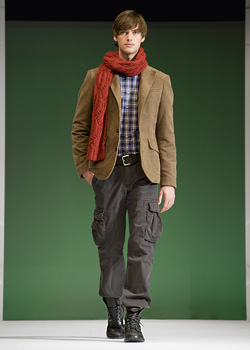 UNITED COLORS OF BENETTON Men's Collection For Fall/Winter 2009/2010