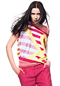 Explosion of colours in Benetton's Spring/Summer 2012 Women's Collection