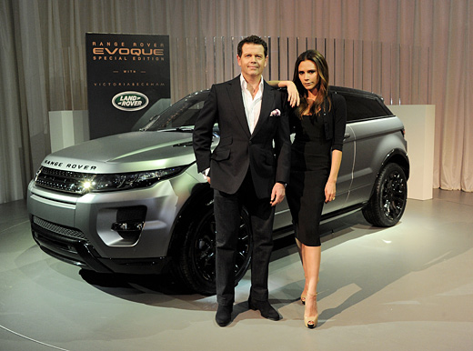 Victoria Beckham and Land Rover unveiled Range Rover Evoque Special Edition at event in China