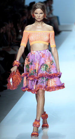 METAMORPHOSIS - Blumarine Spring-Summer 2012 collection