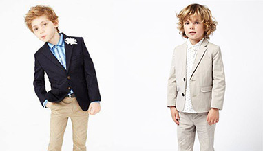 Children are more cute when they wear suits