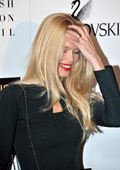 Claudia Schiffer is to front a campaign for Alberta Ferretti's first perfume