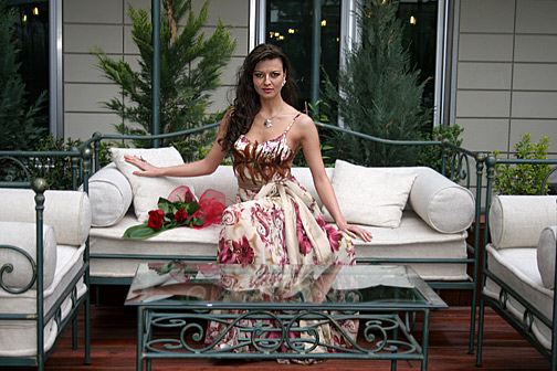 Diana Ivancheva will participate in the longest fashion show on water - the International festival for Haute Couture THE SOPOT FASHION DAYS 2009 in Poland