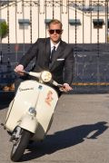 Photo 17 from album Driving a scooter in a suit