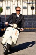 Photo 6 from album Driving a scooter in a suit