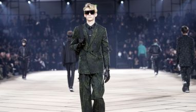 Fall-Winter 2017-2018 Menswear collection by Belgian designer Kris Van Assche for Dior during the Paris Fashion Week