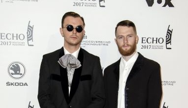 Germany Music Echo Awards Men's Style
