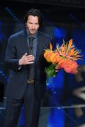 Photo 1 from album Keanu Reeves in ISAIA suit