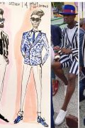 Photo 5 from album Pitti Uomo 92 Street Style in Sketches