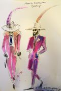 Photo 3 from album Pitti Uomo 92 Street Style in Sketches