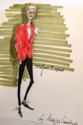 Photo 14 from album Pitti Uomo 92 Street Style in Sketches