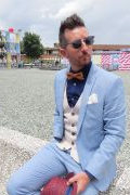 Photo 28 from album Pitti Uomo 94 Street Style