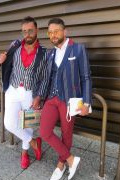 Photo 42 from album Pitti Uomo 94 Street Style
