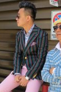 Photo 45 from album Pitti Uomo 94 Street Style