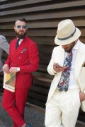 Photo 1 from album Pitti Uomo 96 Street Style