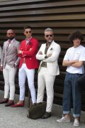 Photo 22 from album Pitti Uomo 96 Street Style
