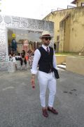 Photo 27 from album Pitti Uomo 96 Street Style