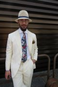 Photo 33 from album Pitti Uomo 96 Street Style