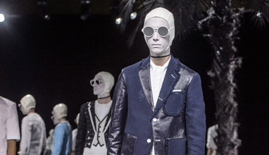 Spring-Summer 2017 Thom Browne men`s collection at Paris Fashion Week